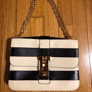 Valentino B-rockstud flap shoulder bag